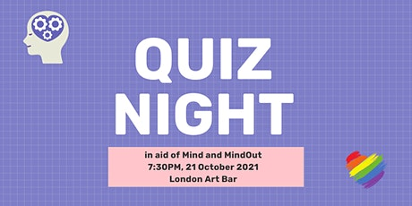 Quiz night in aid of Mind and MindOut tickets