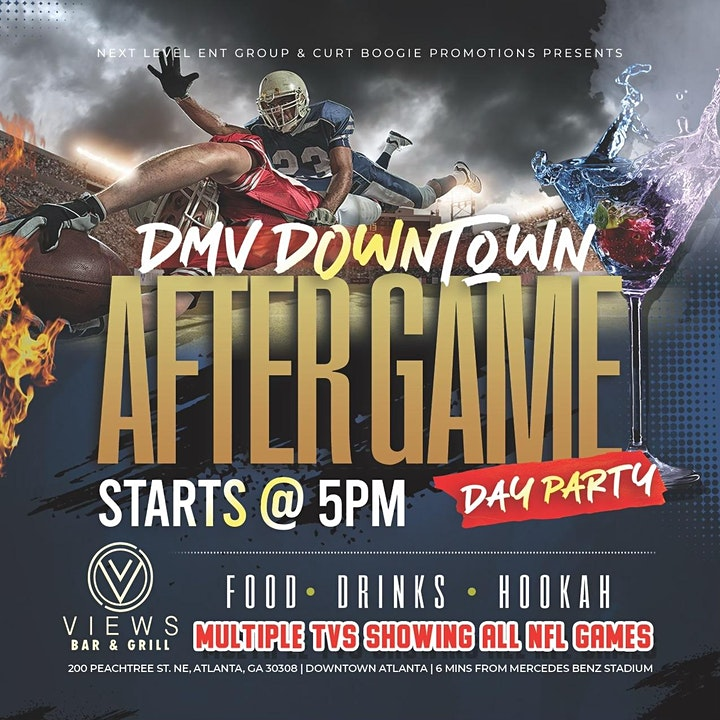 DMV Downtown After Game Party - ATL image