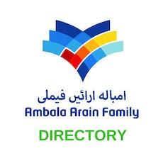 Ambala Arain Family Directory tickets