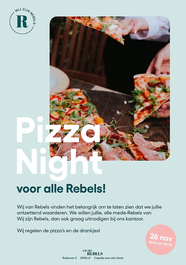 Afbeelding van Rebels Pizza Night