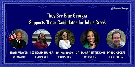 Johns Creek Candidate Forum (Online) tickets
