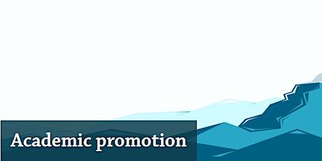 Academic Promotions Webinar 2021 tickets