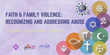 Faith and Family Violence: Recognizing and Addressing Abuse tickets