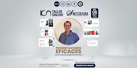 Taller Online: Presentaciones Eficaces entradas