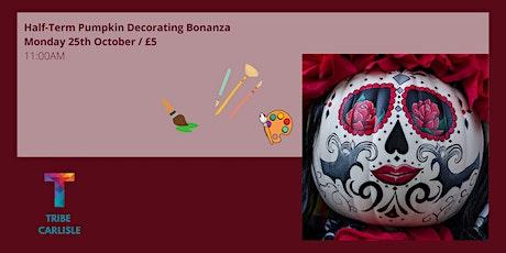 Pumpkin Decorating Bonanza tickets