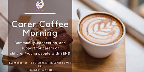 Better Together: Parent Carer Coffee Morning tickets