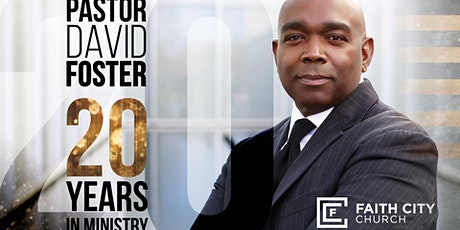 Pastor David Foster 20 Years Of Ministry tickets