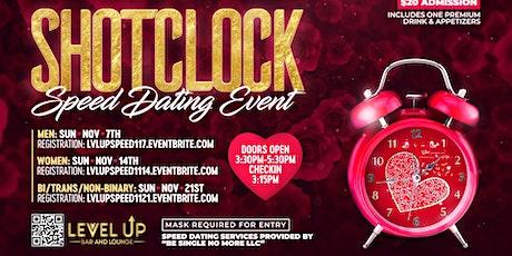 ShotClock Speed Dating! Women Edition tickets