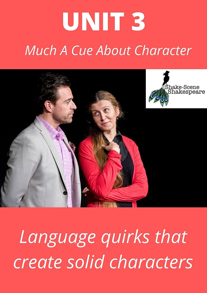 Acting Shakespeare from Cues Only: UNIT 3 (Much A-Cue About Character) image