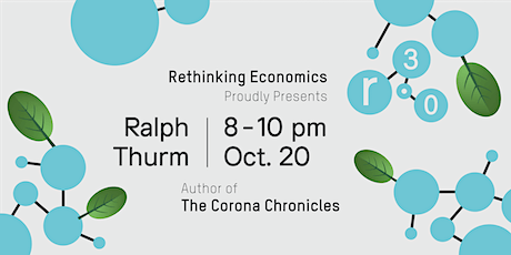 Rethinking Economics Antwerpen for a Thriving Society – Ralph Thurm tickets
