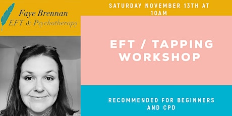 EFT / Tapping For Beginners (Online Event) tickets