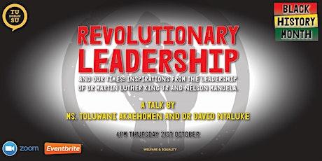 Revolutionary Leadership tickets
