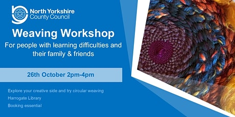 Weaving Workshop for people with learning difficulties tickets