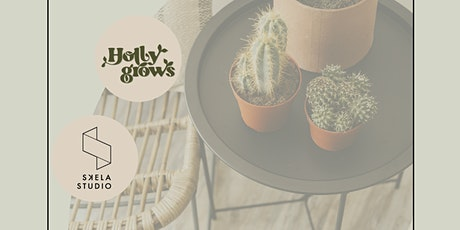 Interior design moodboards making and happy plants workshop tickets