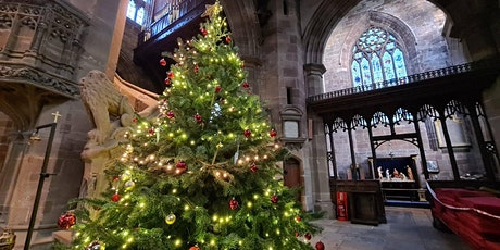 Candlelit Church Tour with Choir Carols and Mince Pies tickets