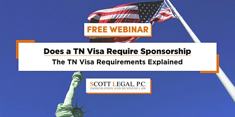 Does a TN Visa Require Sponsorship · The TN Visa Requirements Explained tickets