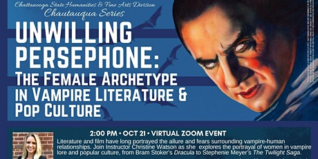 The Female Archetype in Vampire Literature and Pop Culture tickets