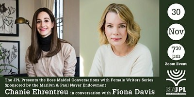 The Boss Maidel Conversations with Fiona Davis