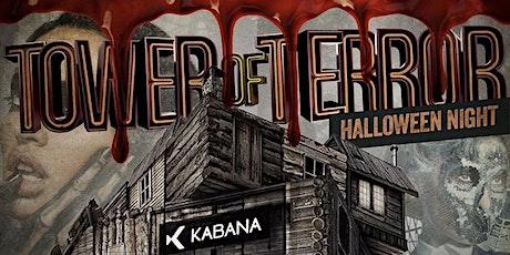 TOWER OF TERROR ( Kabana Rooftop) tickets