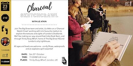 Charcoal Sketchcrawl with Liz Atkin & The Big Draw tickets
