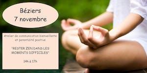 Béziers : Atelier de communication bienveillante et...