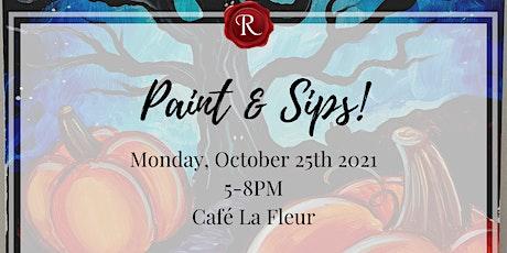 Paint & Sips - Wine & Paint Class tickets