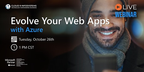 Evolve Your Web Applications with Microsoft Azure tickets