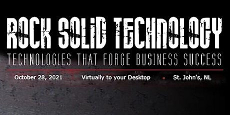 Rock Solid Technology 2021 tickets