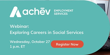 Information Session Event: Careers in Social Services tickets