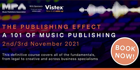 MPA The Publishing Effect - A 101 of Music Publishing Tickets