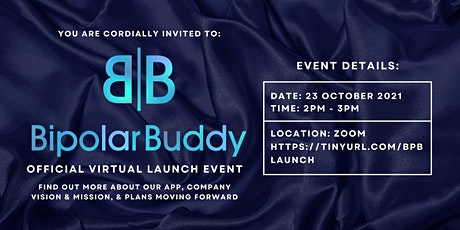 Bipolar Buddy - Official Virtual Launch Event tickets