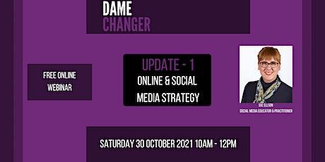 Online & Social Media Strategy for Women in Screen, Film, TV & Media 30 Oct tickets