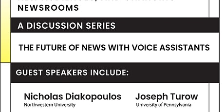 Algorithmic Transformations, new audiences, and changing newsrooms tickets