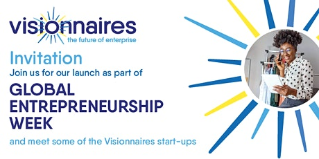 Invitation to the Visionnaires Launch tickets