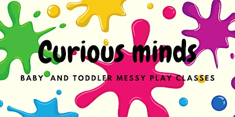Fireworks special, baby and toddler messy play experience tickets