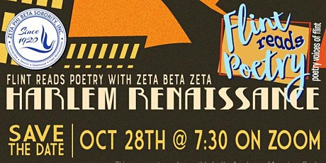 Flint Reads Poetry/Poetry Voices of Flint HARLEM RENAISSANCE tickets
