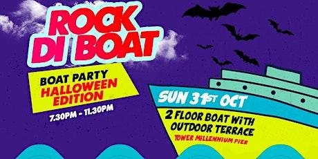 ROCK DI BOAT (Reggae Brunch) - HALLOWEEN Boat Party 31ST OCTOBER 2021 tickets