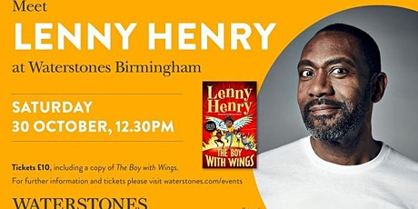 Meet Lenny Henry at Waterstones Birmingham tickets