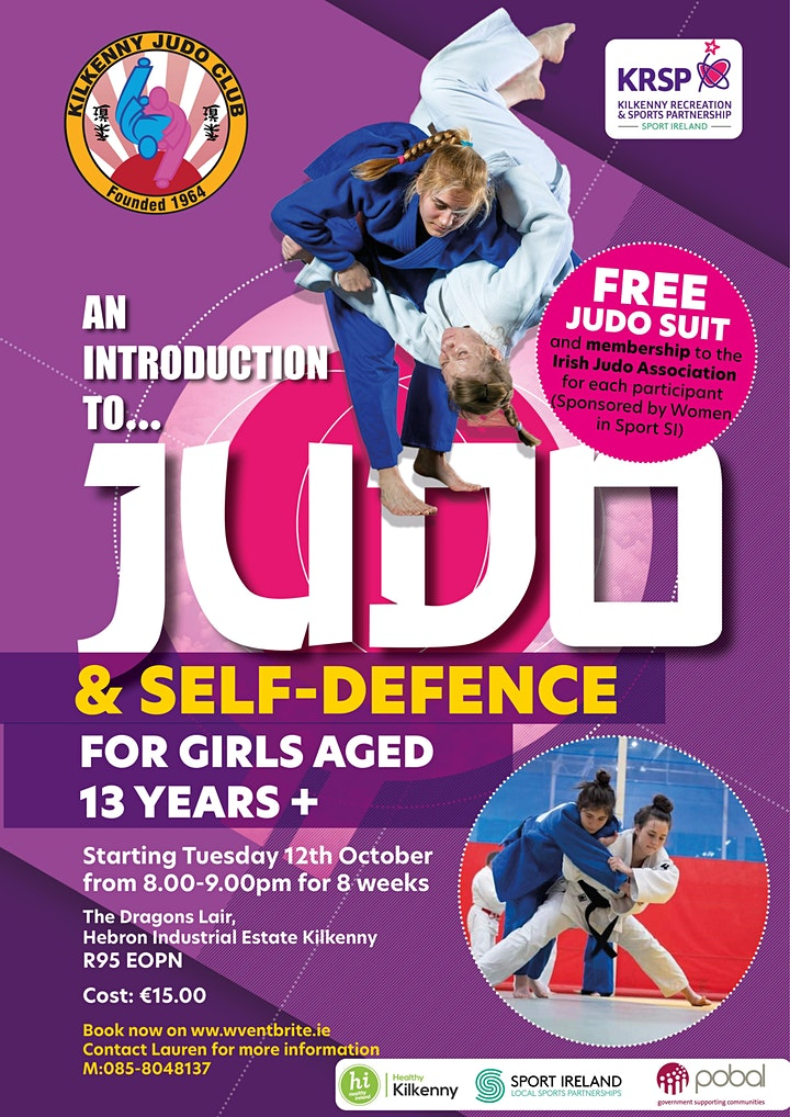 2021 KRSP Introduction to Judo & Self Defence for Girls image