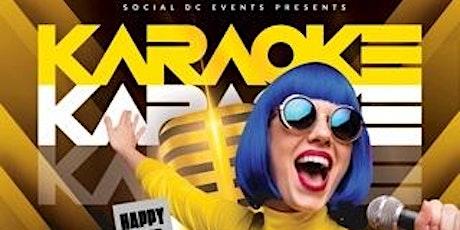 Karaoke DC Happy Hour tickets