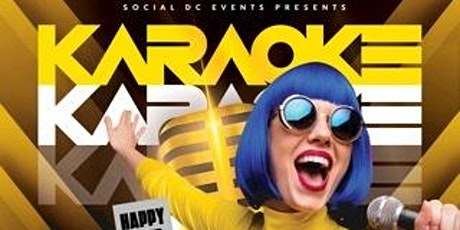 DC Karaoke Happy Hour tickets