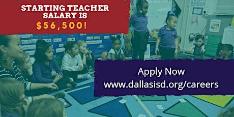 Dallas ISD In-Person Fall Teacher Job Fair tickets