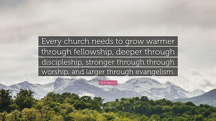 Afbeelding van IC The Garden Church Service - October 17th