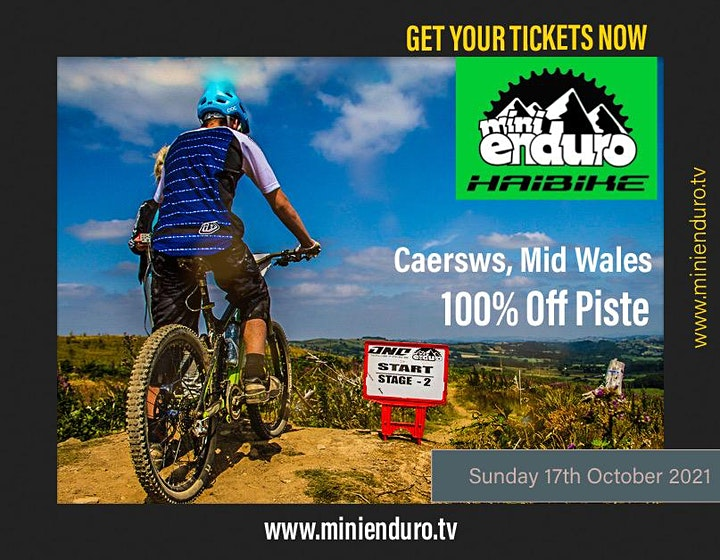 Haibike Mini Enduro Caersws Mid Wales 17-10-2021 image
