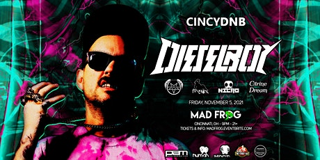 CincyDnb Presents: Dieselboy tickets