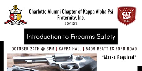 Charlotte Alumni Kappas - Introduction to Firearms Safety with Mike Burks tickets