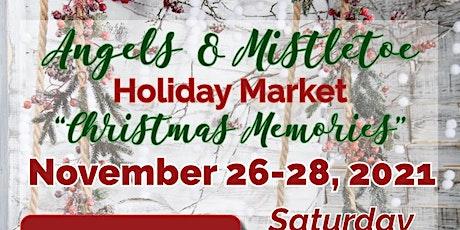 Angels & Mistletoe Holiday Market 2021 tickets