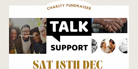 Network & Glow Up Charity Fundraiser with TALK SUPPORT! tickets
