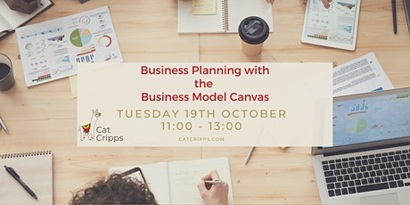 Business planning with the Business Model Canvas - Oct 2021 tickets