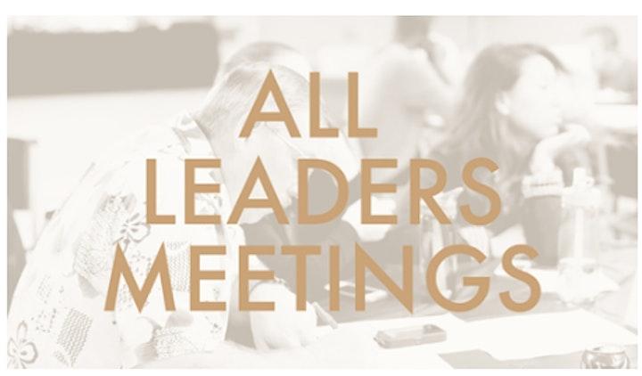 Afbeelding van All Leaders' Meeting - 07 Nov